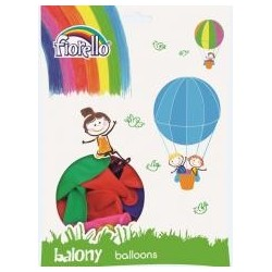 Balony Pastel mix 10'' (100szt) FIORELLO