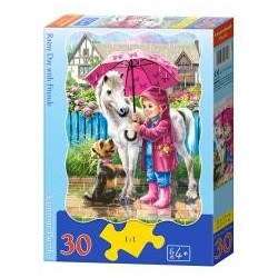 Puzzle 30 Rainy Day with Friends CASTOR