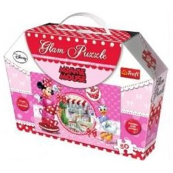 Glam Puzzle - Minnie Mouse TREFL
