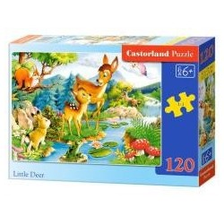Puzzle 120 Bambi CASTOR