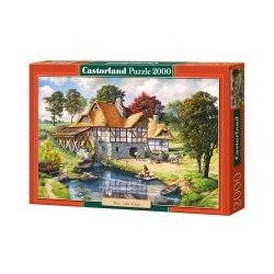 Puzzle 2000 Water Mill Cottage CASTOR