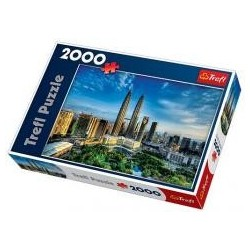 Puzzle 2000 Petronas Twin Towers TREFL