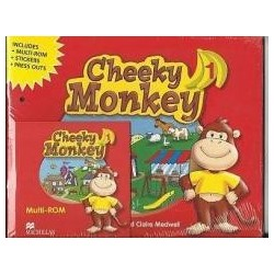 Cheeky Monkey 1 SB z Songs CD MACMILLAN
