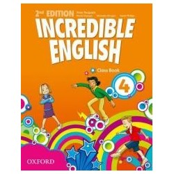 Incredible English 2E 4 CB OXFORD