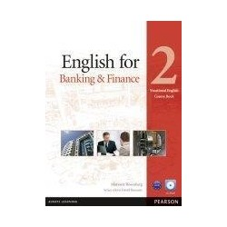 English for Banking & Finance 2 SB+CD PEARSON