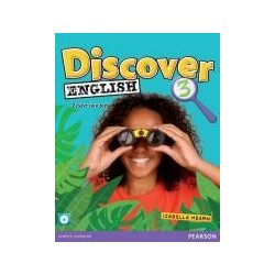 Discover English 3 WB +CD PEARSON