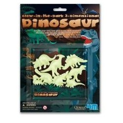Glow in the dark - Dinozaury 3D 4M