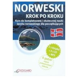 Norweski - Krok po kroku 5CD+MP3 EDGARD