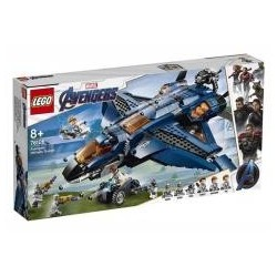 Lego SUPER HEROES 76126 Wspaniały Quinjet Avengers
