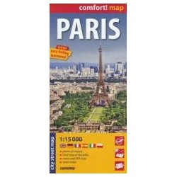 Comfort!map Paris 1:15 000 plan miasta