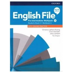 English File 4E Pre-Interm. Multipack A + online