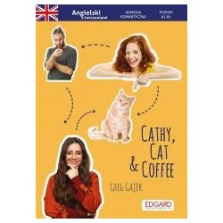 Angielski. Komedia z ćw. Cathy, Cat & Coffee