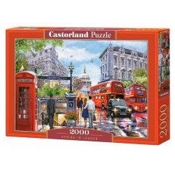 Puzzle 2000 Spring in London CASTOR