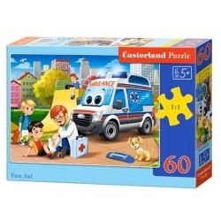Puzzle 60 First Aid CASTOR