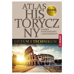 Atlas historyczny ZP + ZR do LO i Technikum