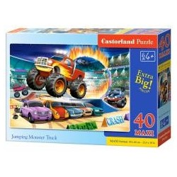 Puzzle 40 maxi - Jumping Monster Truck CASTOR