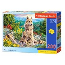 Puzzle 200 New Generation CASTOR