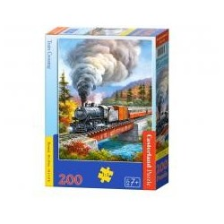 Puzzle 200 Train Crossing CASTOR