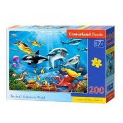 Puzzle 200 Tropical Underwater World CASTOR
