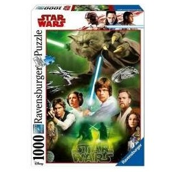 Puzzle 1000 Star Wars - Bohaterowie