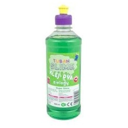 Klej zielony PVA 500ml TUBAN