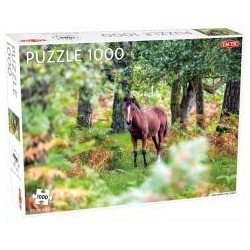 Puzzle 1000 Wild Horses, New Forest