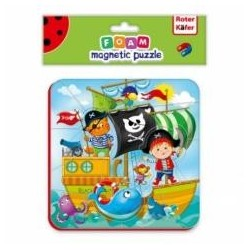 Foam magnetic puzzle Magnetic stories Piraci