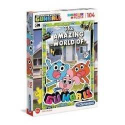 Puzzle 104 Super kolor Gumball