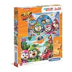 Puzzle 2x20 Super kolor Top Wing