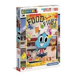 Puzzle 180 Super kolor Gumball