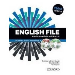 English File 3E Pre-Intermediate SB Multipack A