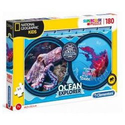 Puzzle 180 National Geo Kids Ocean Expedition