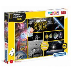 Puzzle 180 National Geo Kids I nees more Space