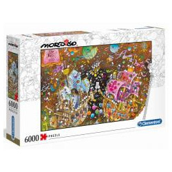 Puzzle 6000 Mordillo The Kiss