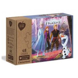 Puzzle 3x48 Play For Future Frozen 2