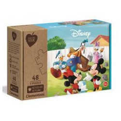 Puzzle 3x48 Play For Future Mickey Mouse