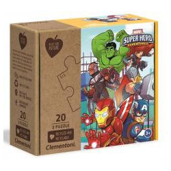 Puzzle 2x20 Play For Future Marvel Superhero