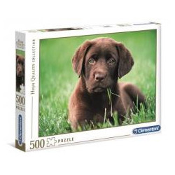 Puzzle 500 HQ Chocolate Puppy