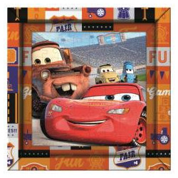 Puzzle 60 Frame Me Up Cars