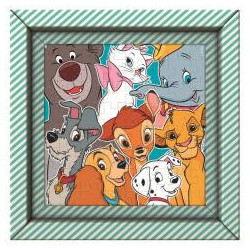 Puzzle 60 Frame Me Up Disney Animals