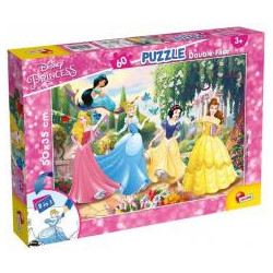 Puzzle dwustronne Plus 60 Princess