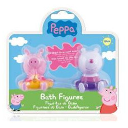 Peppa Pig - Zestaw 2 figurek do kapieli mix