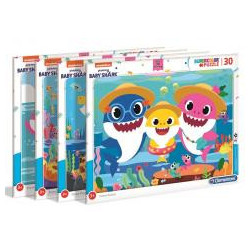 Puzzle 30 Super Color Baby Shark
