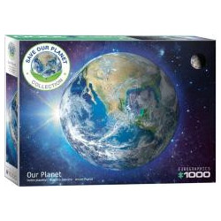 Puzzle 1000 Save our planet, Ziemia
