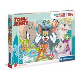 Puzzle 104 Superkolor Tom & Jerry