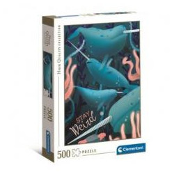 Puzzle 500 HQ Fantastic Animals Narwhal