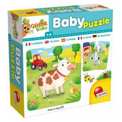 Carotina Baby - Puzzle The farm