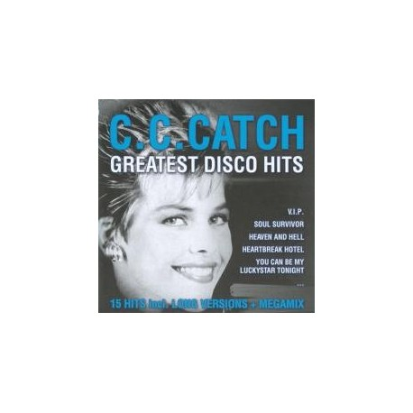 C.C.Catch - Greatest Disco Hits. CD
