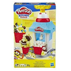 Popcorn Party Play-Doh