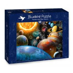 Puzzle 500 Planety